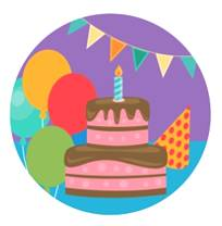 Birthday & Party Icon Magnet