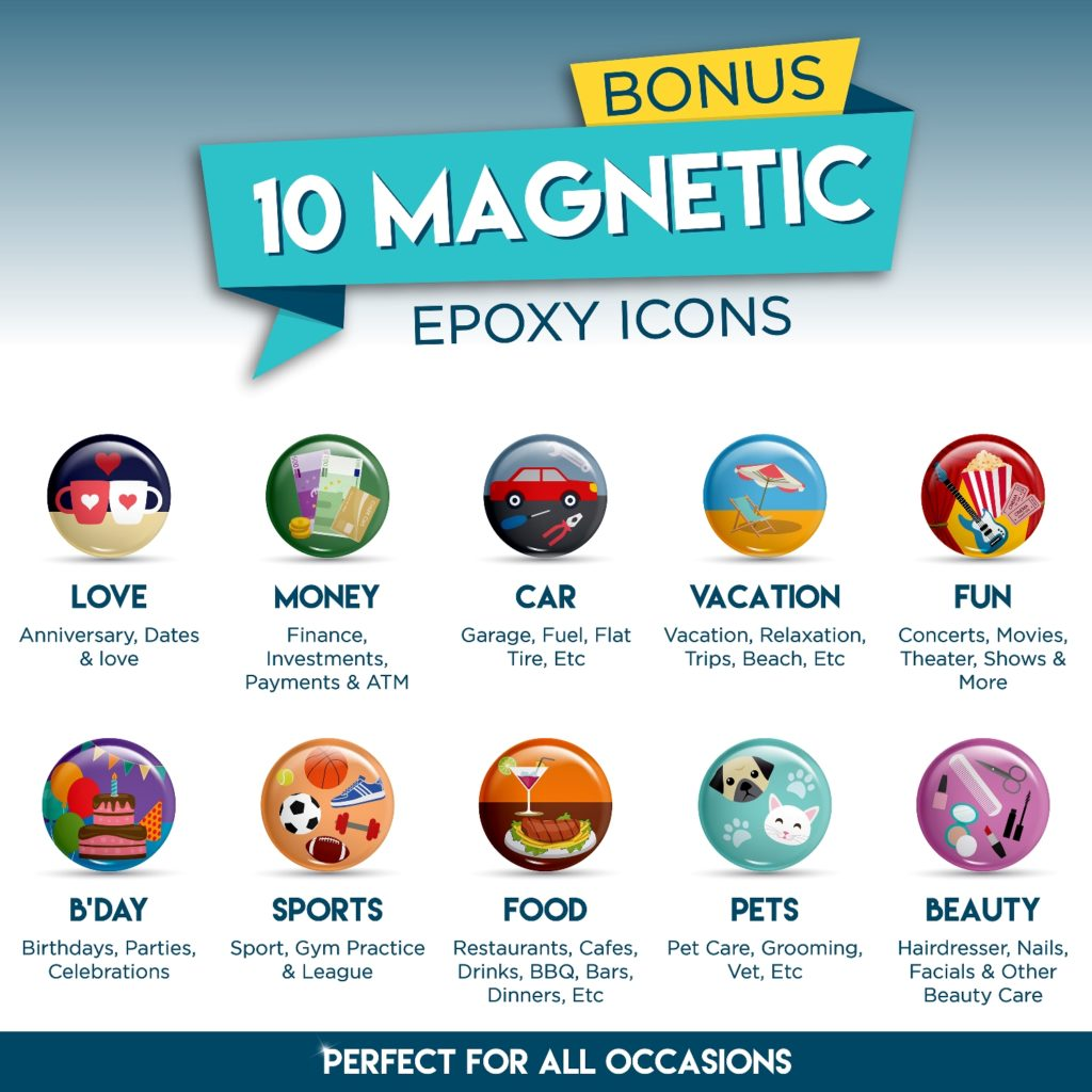 Free 10 Magnetic Icons