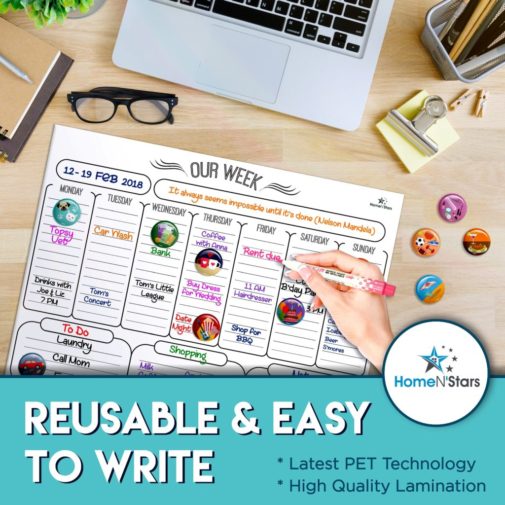 Reusable & Easy to Write